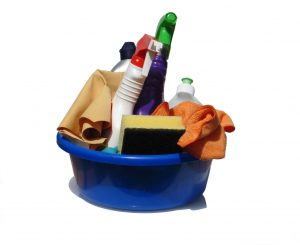 The equipment required for our cleaning jobs in chesterfield