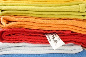 professional cleaners will fold your fresh towels ready for you