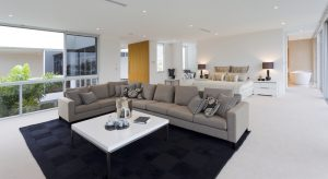 Professional carpet cleaning in the home